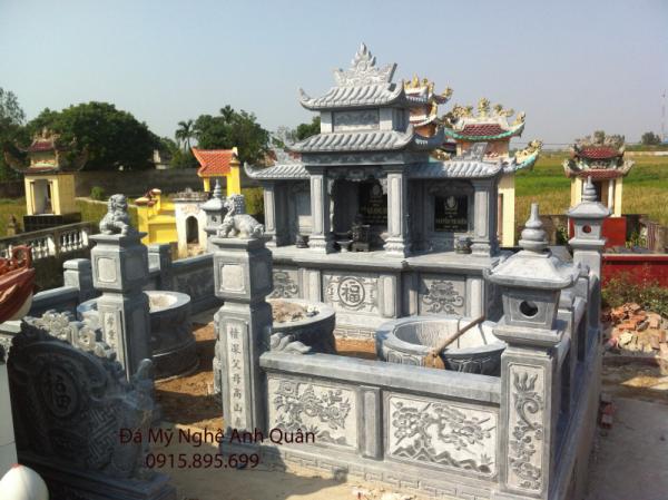 Toàn cảnh khu lăng mộ
