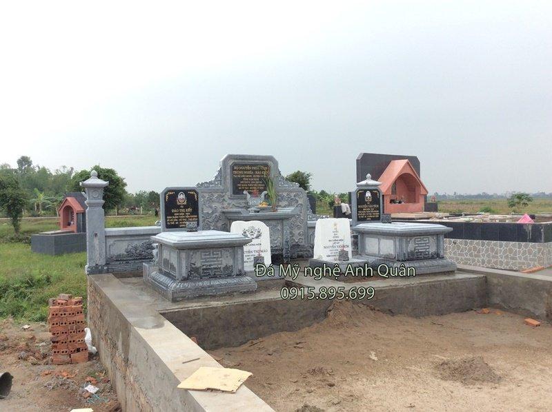 mẫu mộ đá ở ninh bình, chế tác mộ đá ninh bình