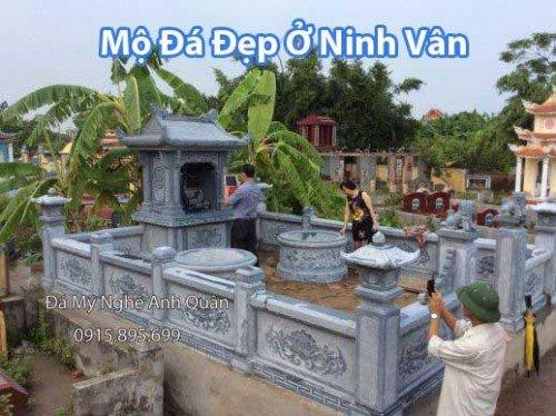 Mộ Đá Ở Ninh Vân Ninh Bình