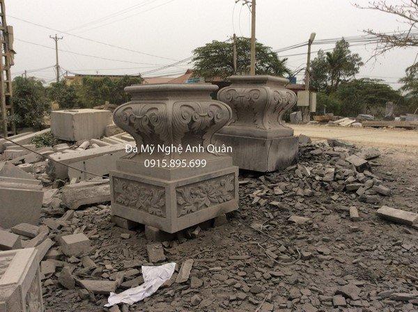 Tảng cột đá đồng trụ đá 2
