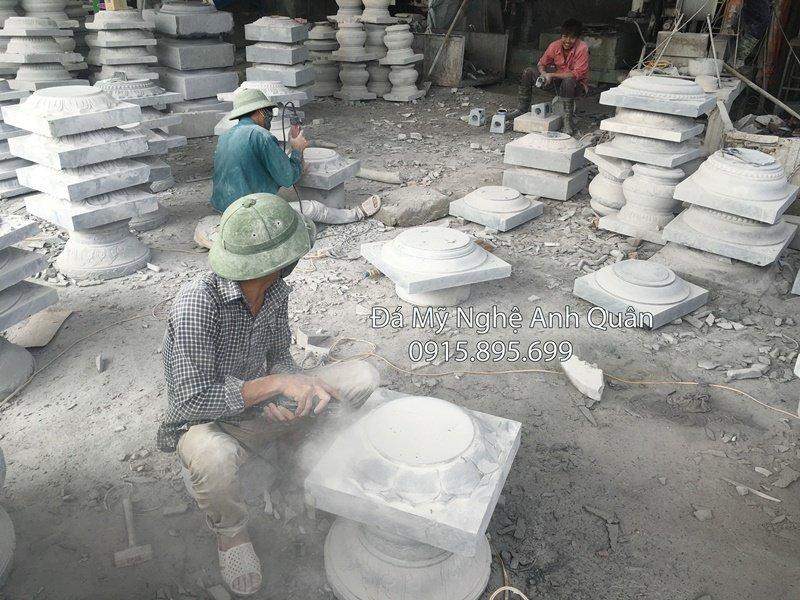chân cột bằng đá, mẫu chân cột bằng đá
