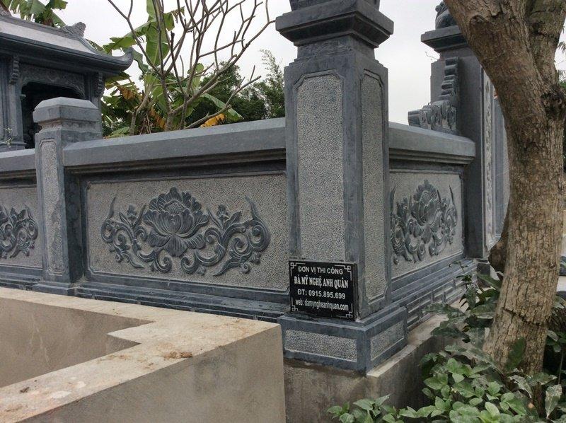 Lan can khu lăng mộ, làm lan can khu lăng mộ đẹp