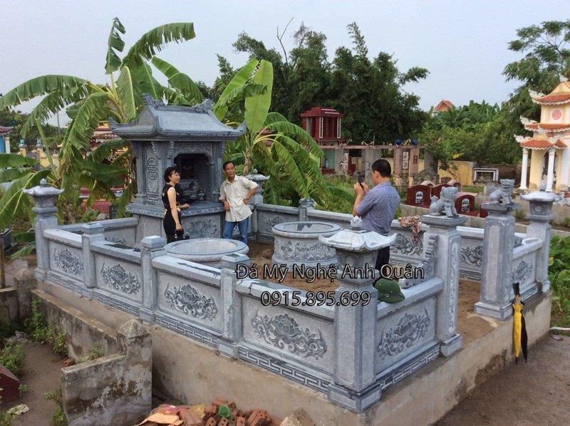lăng mộ đá đẹp, chế tác khu lăng mộ đá đẹp