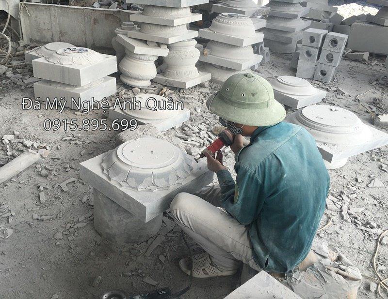 mau chan cot bang da dep, thiết kế mẫu chân cột bằng đá đẹp, mẫu chân cột đá đẹp