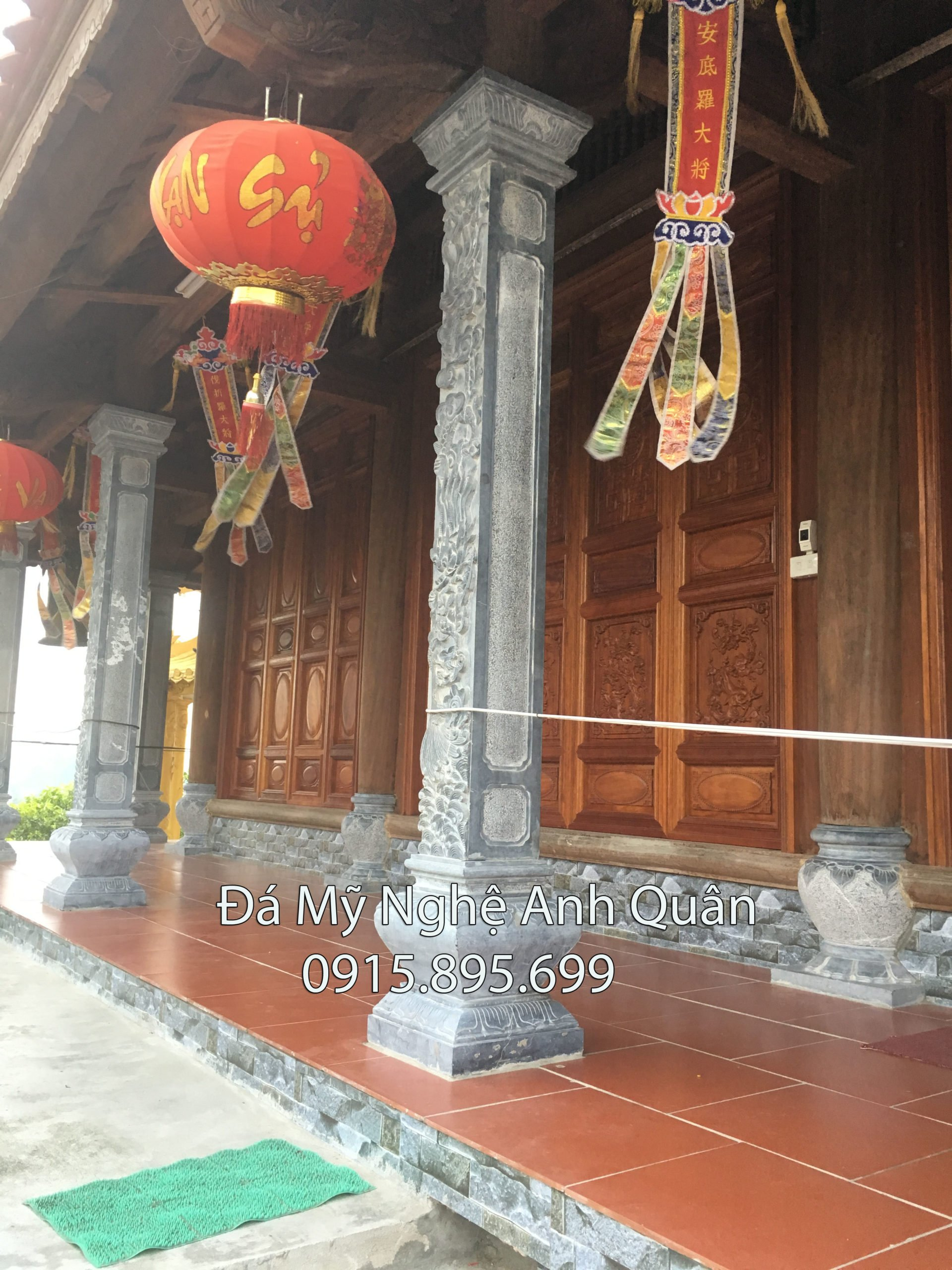 Cột đá, mẫu cột đá đẹp tại Ninh Bình