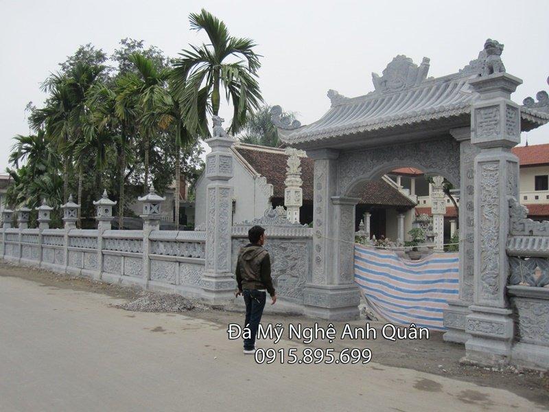 Cong da mau cong da dep Ninh Binh