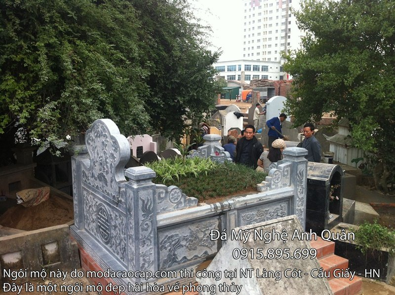 Đặt khu lăng mộ theo phong thủy