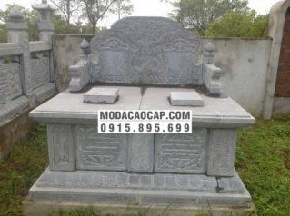Mẫu mộ bành đá 1
