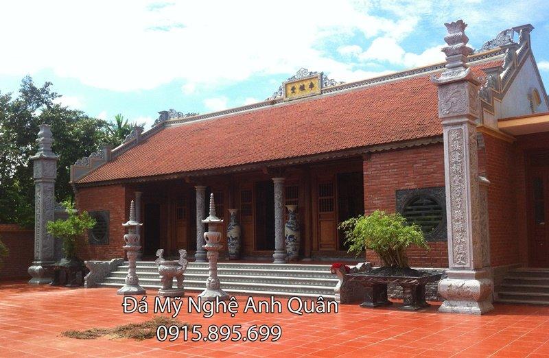 Lắp nhà thờ họ bằng đá ở Ninh Bình