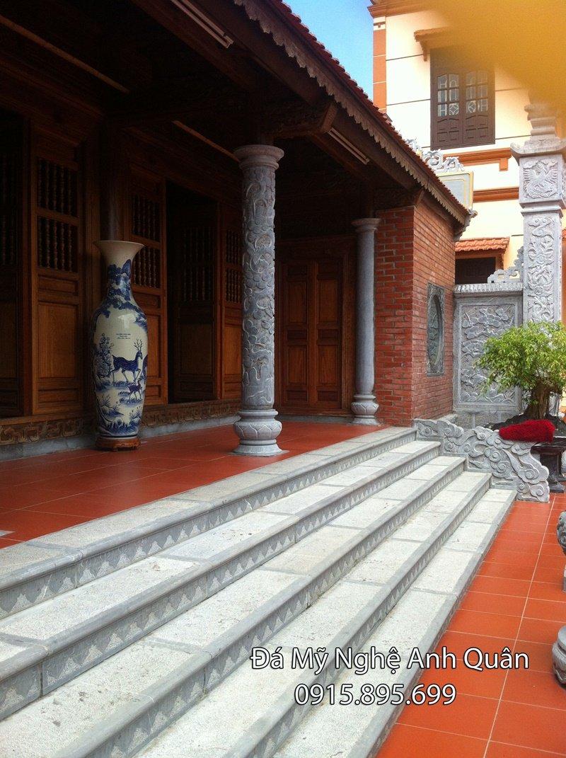 Làm cột đá, khắc cột đá, cột đá Ninh Bình