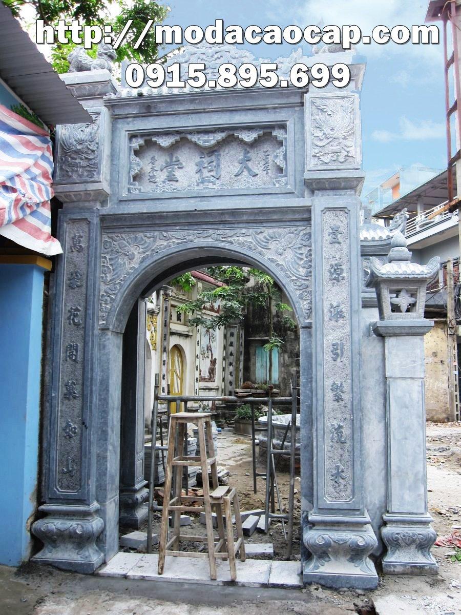 Cổng đá đẹp Ninh Bình