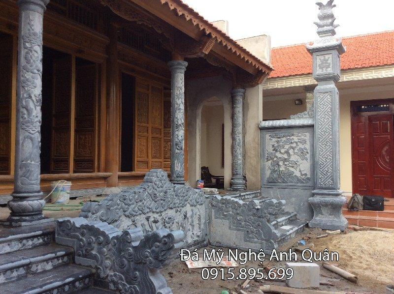 Cột đá nhà thờ tại Nam Định, Làm cột đá nhà thờ ở Nam Định
