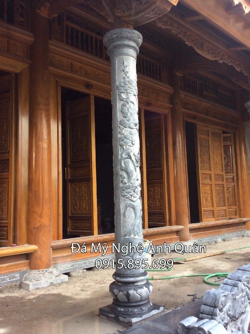 Cột đá nhà thờ, mẫu cột tròn đá làm nhà thờ họ