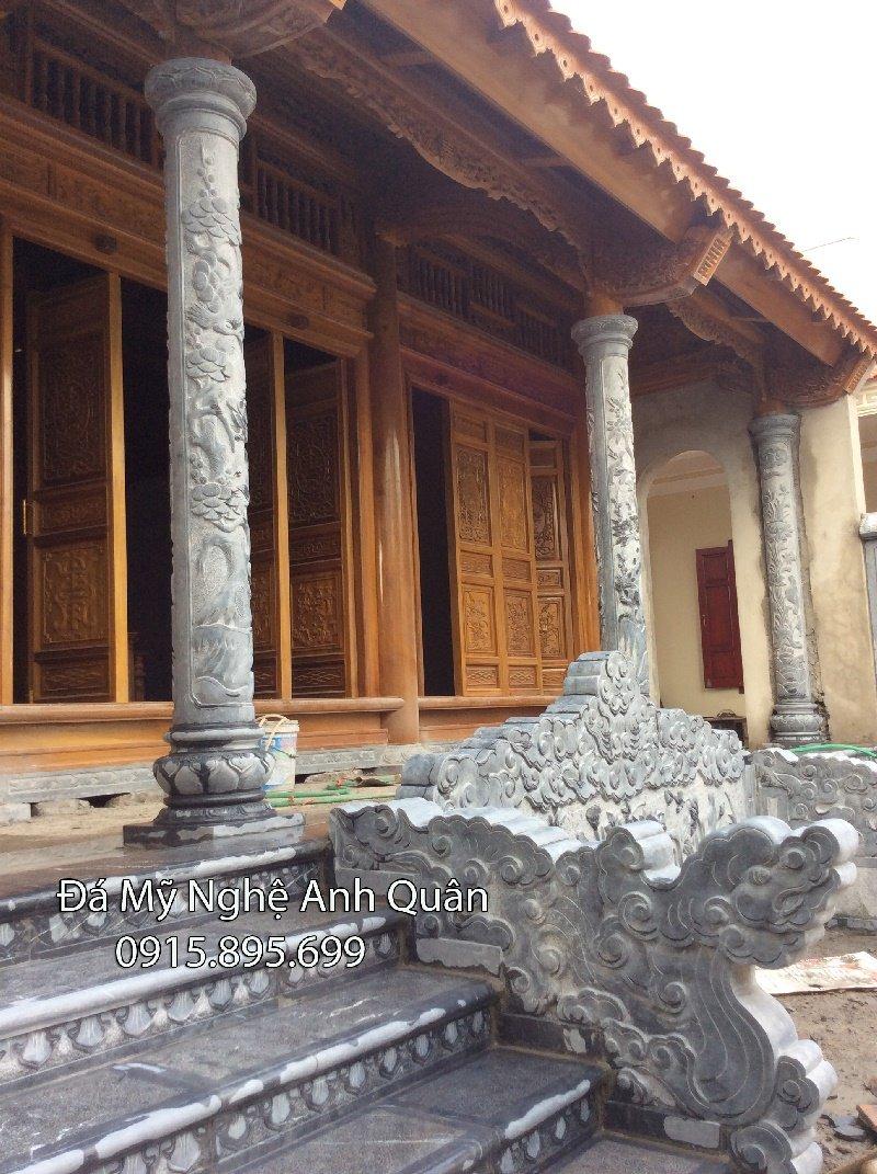 Cột đồng trụ đá đẹp tại Ninh Bình