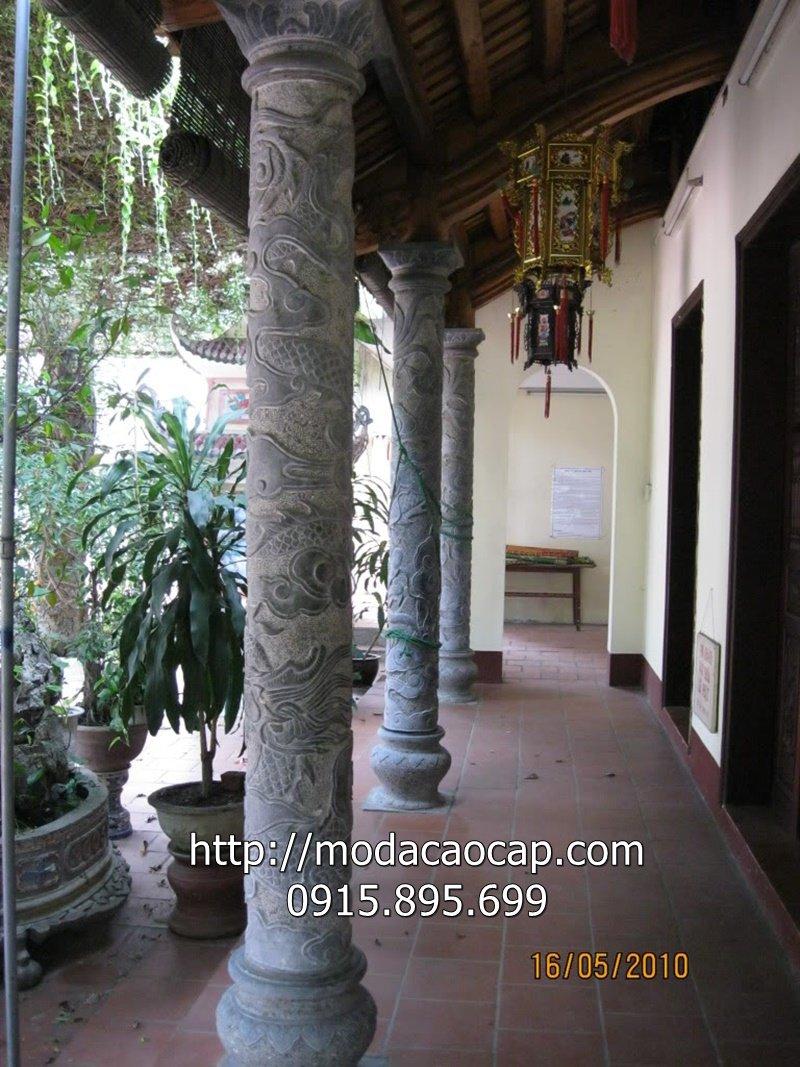 Cot da tron - mau cot da tron dep cua Mo da cao cap Anh Quan Ninh Binh
