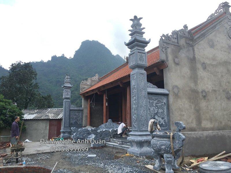 Cột đồng trụ đá, mẫu cột đá đẹp tại Ninh Bình
