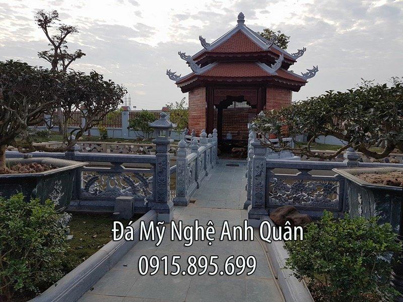 Khuon vien Nha tho ho - Lan can da - Lau tam quan
