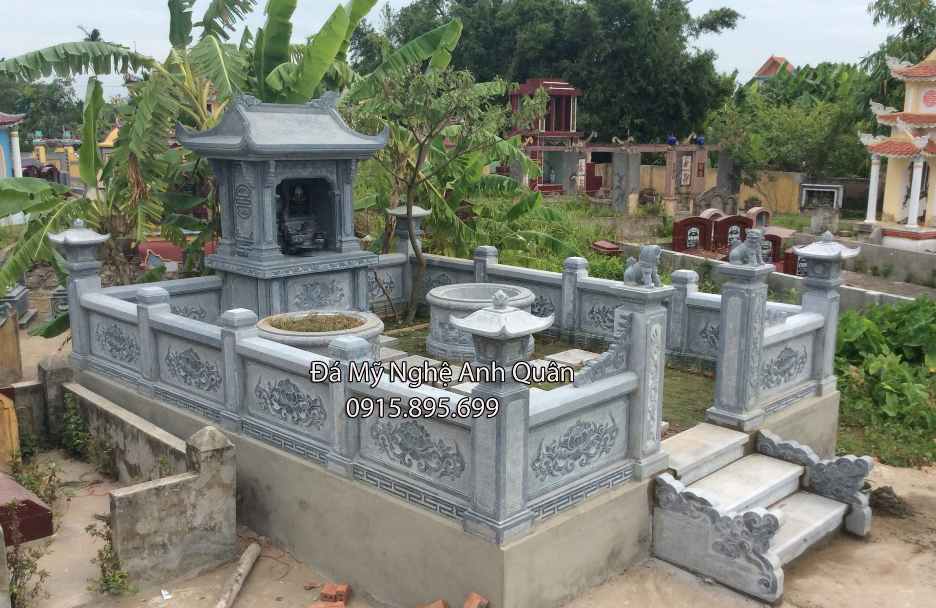 Lang mo da - Khu lang mo da dep hoan hao cua Da my nghe Anh Quan Ninh Binh