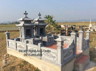 Mộ Đá Công Giáo, Lăng mộ đá công giáo đẹp