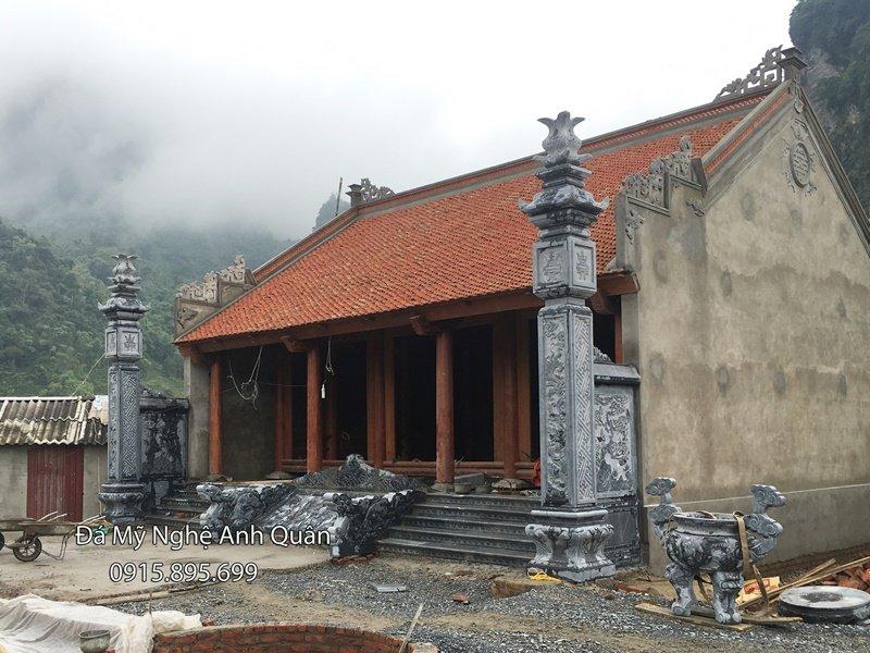 Bậc thềm đá nguyên khối của Đá mỹ nghệ Anh Quân- Uy Tín, Chất Lượng hàng đầu Việt Nam.