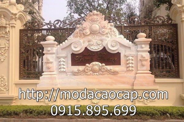 Cuon thu da - Mau cuon thu da dep cho Dinh thự, Biệt thự, Lâu đài, Khu đô thị, Khuôn viên Gia đình