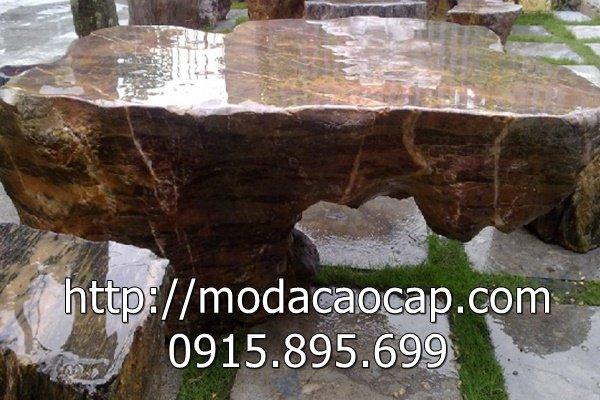 Mẫu bàn ghế đá 2