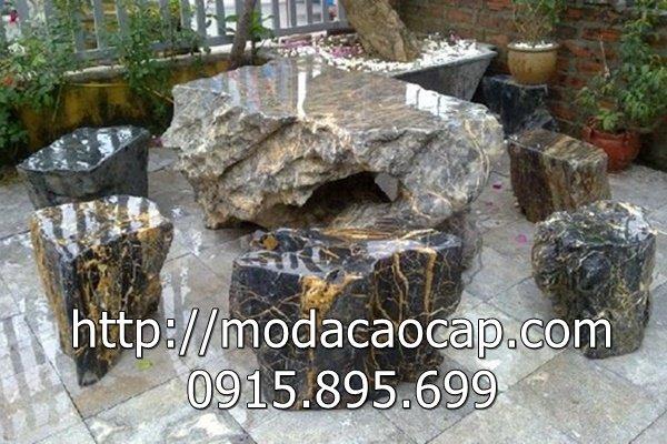 Mẫu bàn ghế đá 3