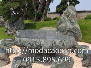 Mẫu bàn ghế đá 4