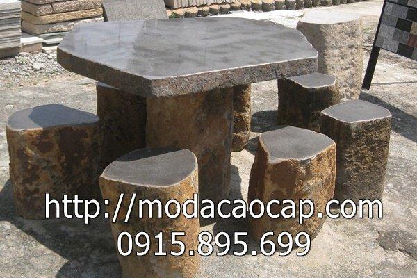 Mẫu bàn ghế đá 8