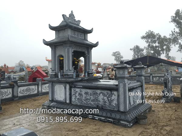 Lang mo da DEP cua Mo da cao cap Anh Quan Ninh Binh