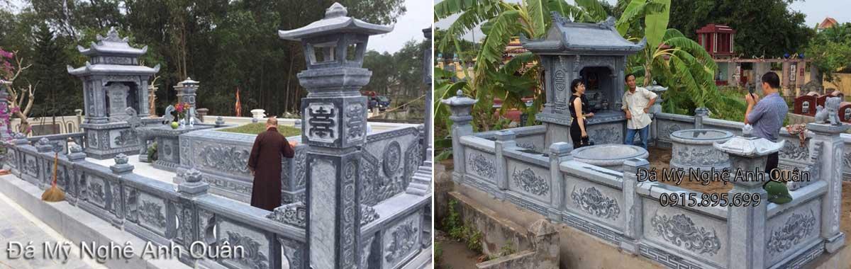 Lăng mộ đá đẹp, Làm mẫu lăng mộ đá đẹp tại Ninh Vân, Hoa Lư, Ninh Bình.