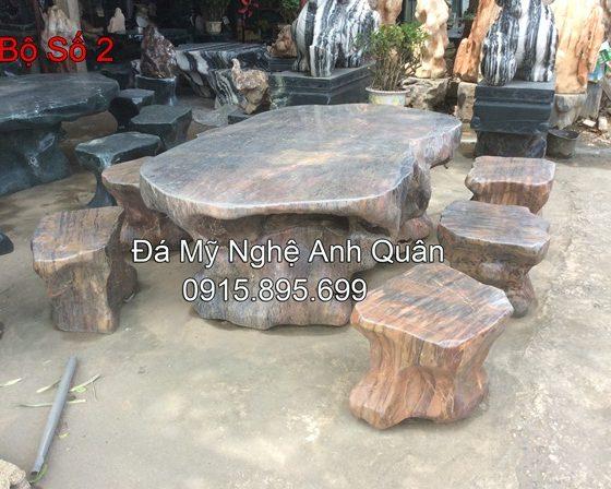 Mẫu bàn ghế Đá ĐẸP 2