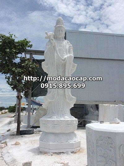 Mẫu tượng bồ tát bằng đá 1