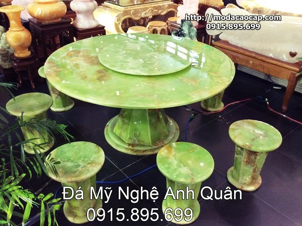 Bo ban ghe bang da DEP Anh Quan Ninh Binh