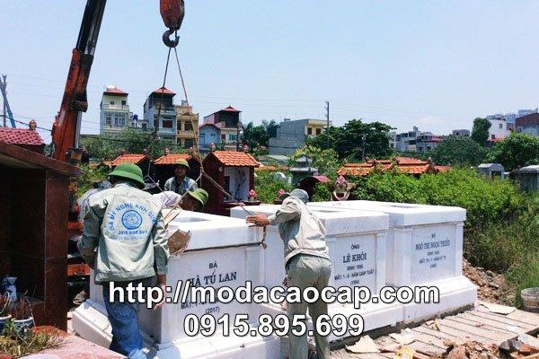 Lap dat Mo da - Da my nghe Anh Quan Ninh Binh