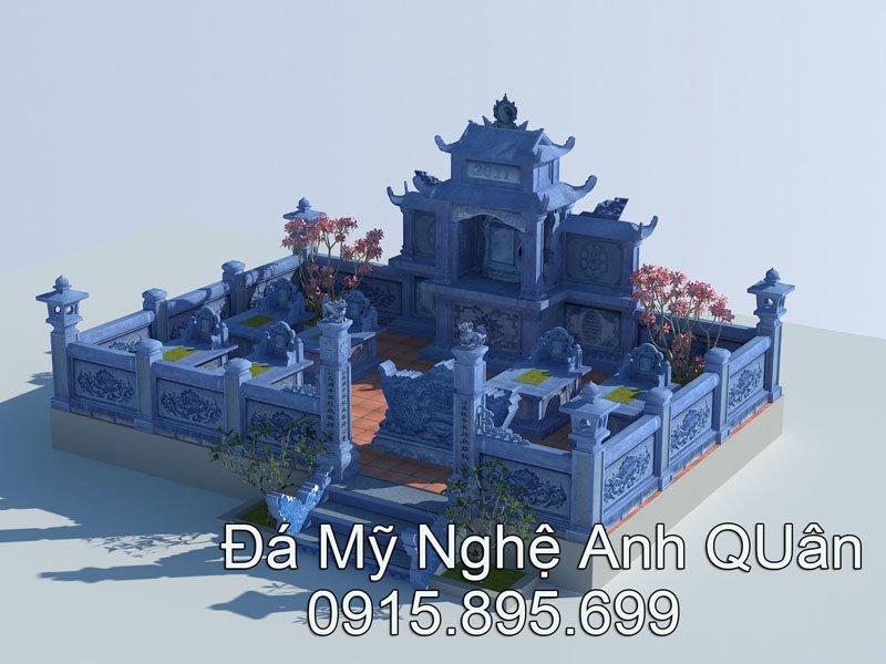 Ban ve Khu lang mo da DEP - Da my nghe Anh Quan Ninh Binh