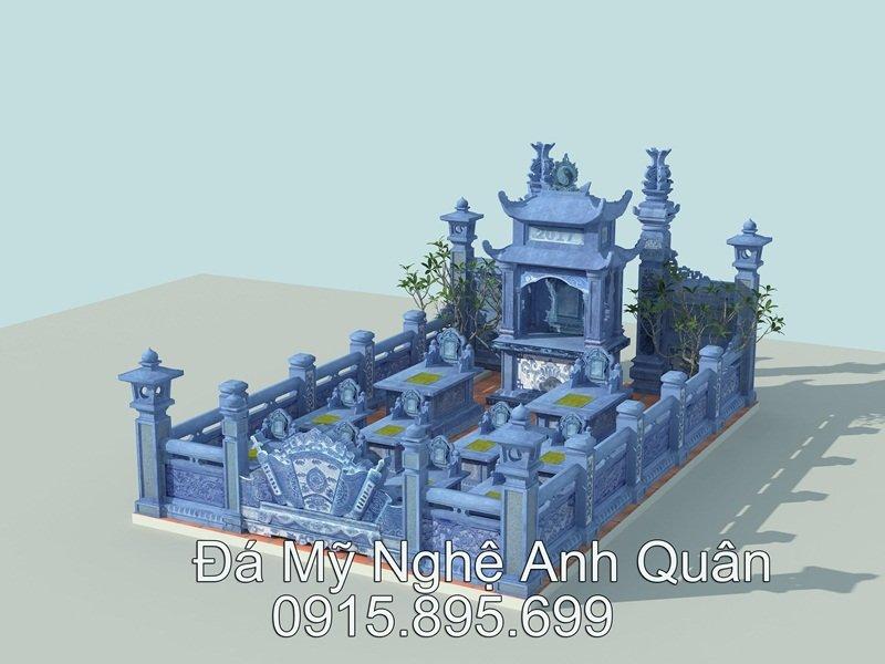 Khu lang mo da Ninh Binh