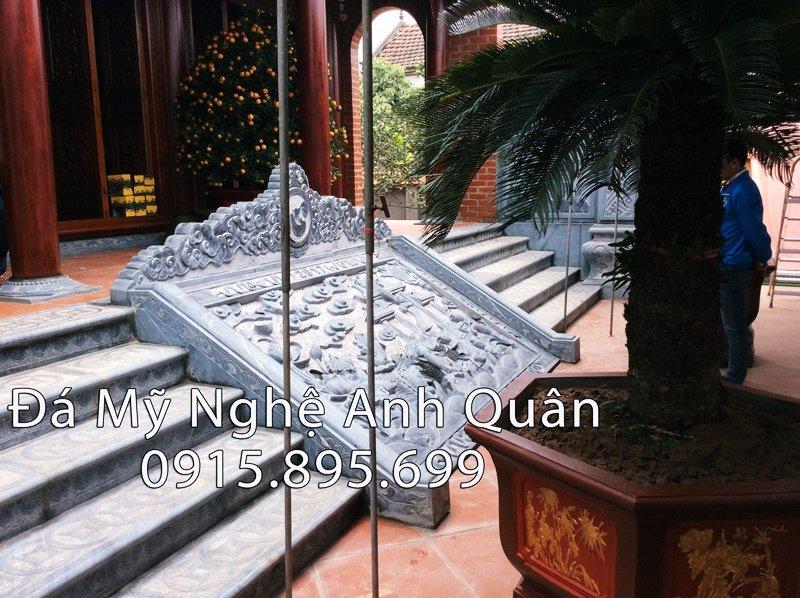 Bậc thềm đá cho Nhà thờ họ tại Hưng Yên