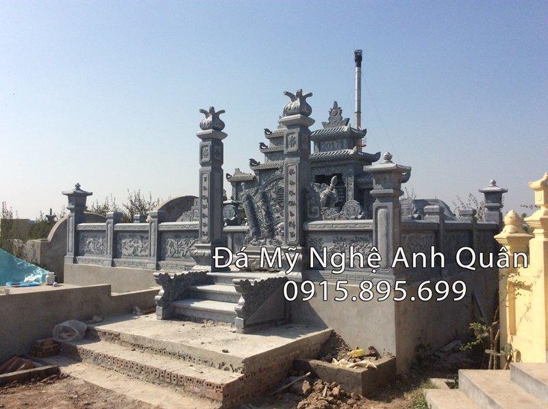 Nhận làm lăng mộ đá đẹp tại Ninh Bình
