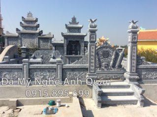 Khu lăng mộ đá nhà Chú Dũng Nam Định
