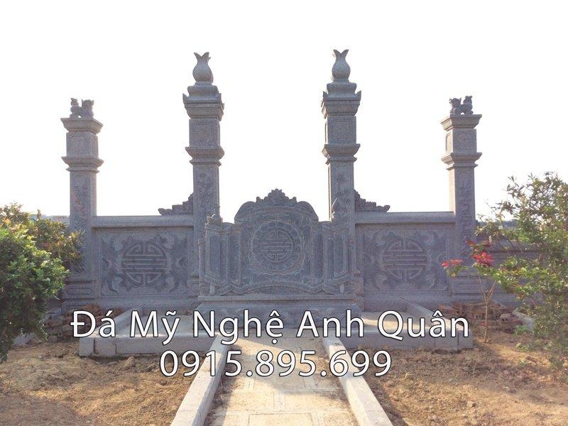 Chính diện khu lăng mộ