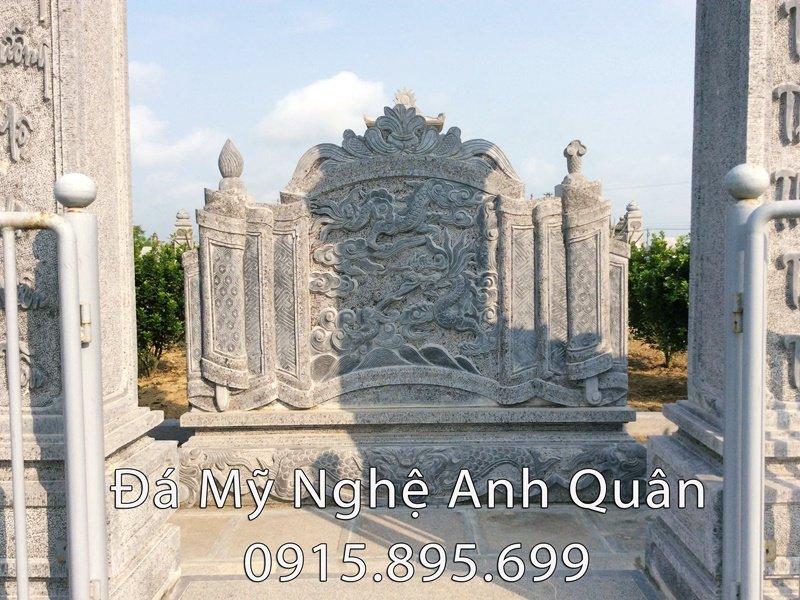 Cuốn thư đá của khu lăng mộ