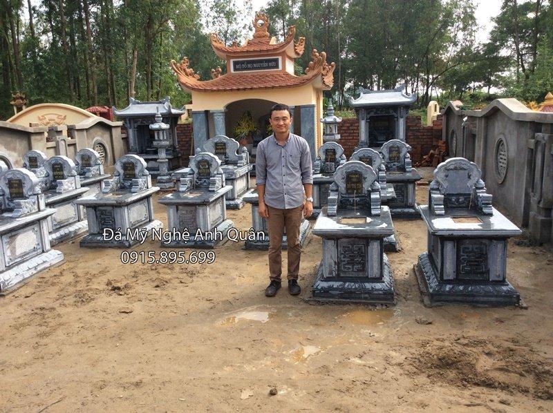 Lang mo da Anh Quan Ninh Binh