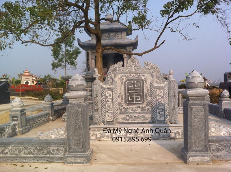 Mau Bo Bo Bang Da - Lan Can Da khu lang mo