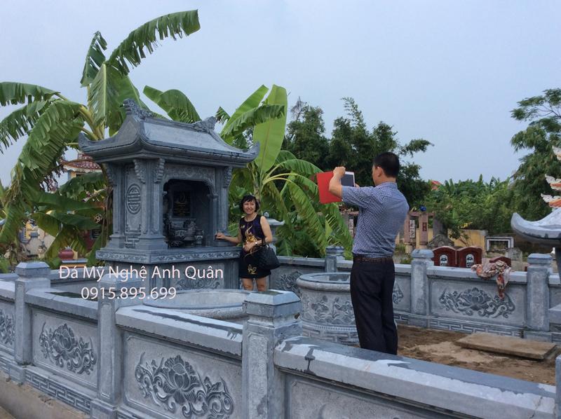 Mau Lan can da cua Khu lang mo da nha anh Tuan - Nam Dinh