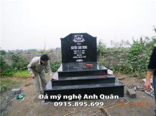Mẫu mộ đá hoa cương 19