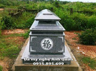 Mẫu mộ đá hoa cương 23