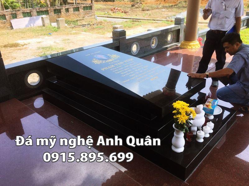 Mau Mo da Granite - Mo Hoa Cuong phong cach Chau Au