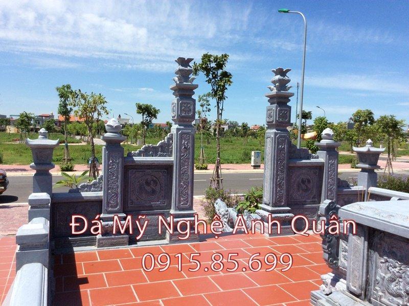 Cổng khu lăng mộ Đá ĐẸP