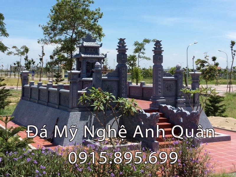 Công trình khu Lăng mộ đá cụ tổ họ Nguyễn Hữu